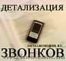 Услуга Детализация звонков с оплатой по факту выполнения в Закарпатской области.